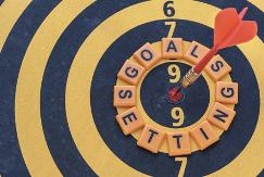 goal setting bullseye